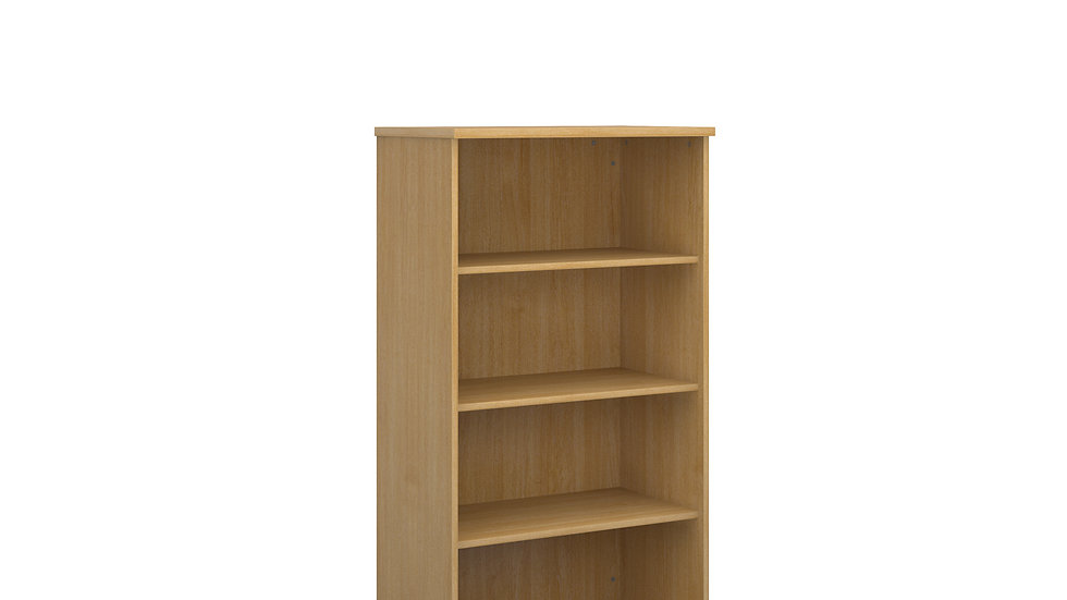 1440mm high Storage Range Bookcase with 3 shelves