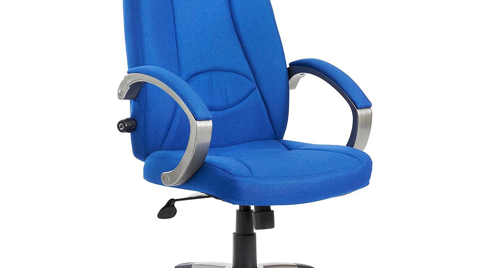Lucca high back fabric managers chair 2 colours available