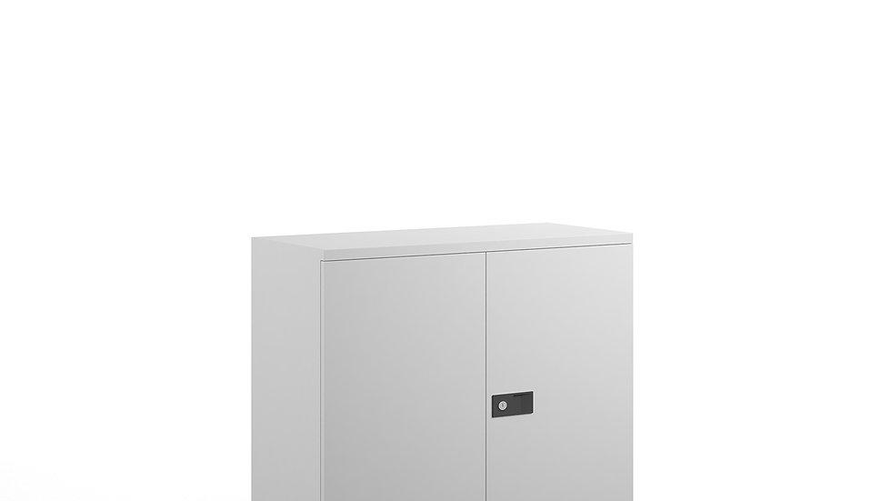 1000mm high steel cupboard with 1 shelf