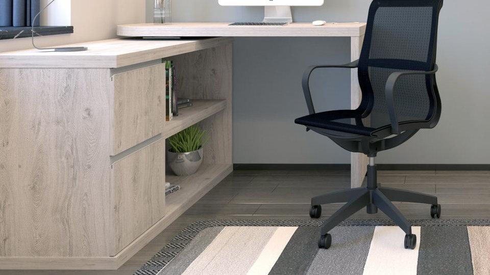 Rotating Smart Storage desk