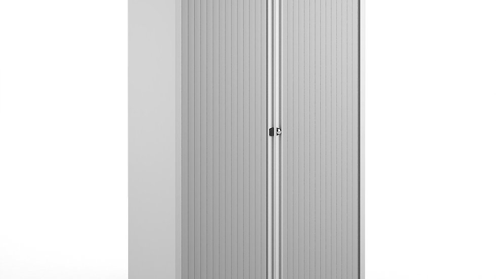 Systems storage low tambour cupboard 1970mm high