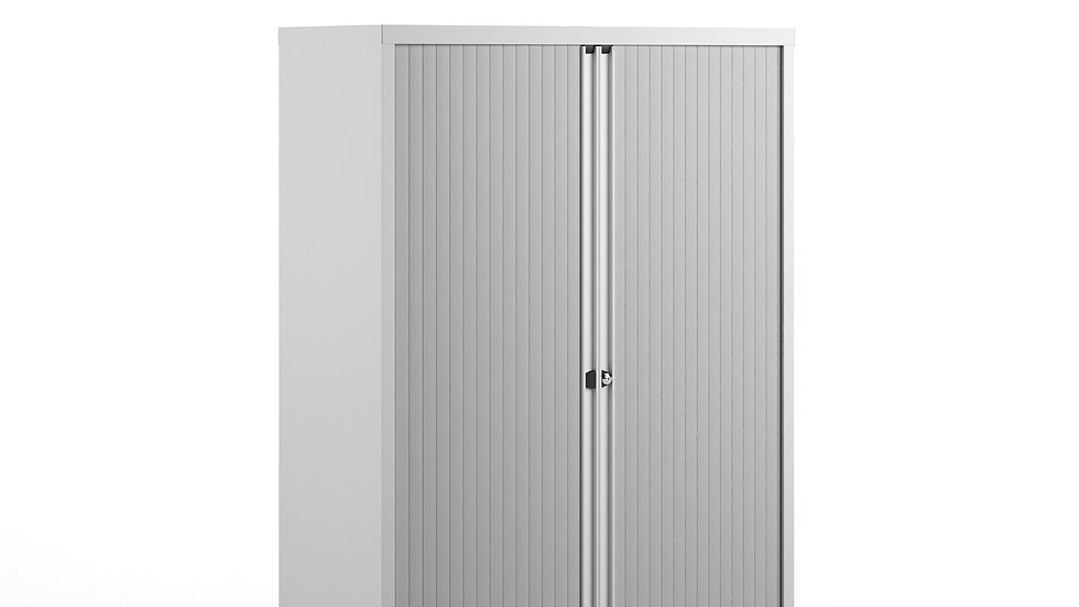 Systems storage low tambour cupboard 1570mm high