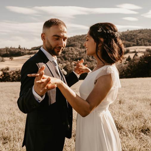 Emilie & Nelson - Se marier durant la journée (Mariage)