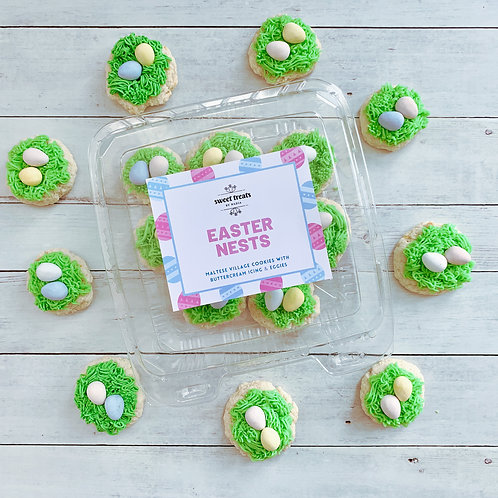 Easter Nests (Maltese Village Cookies)
