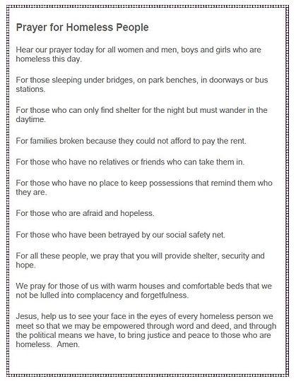 PRAYER FOR THE HOMELESS.JPG