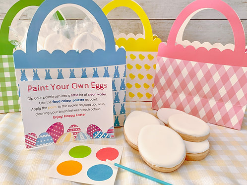 Easter Egg Paint Your Own Basket