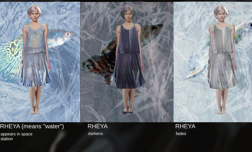 Character design-Rheya