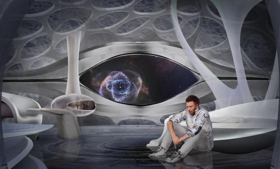Kelvin's spaceship room