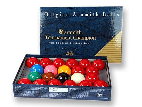 "2 1/16"" Tournament Champion Snooker Balls"