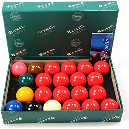 "2 1/4"" Belgium Aramith Premier Snooker Balls"