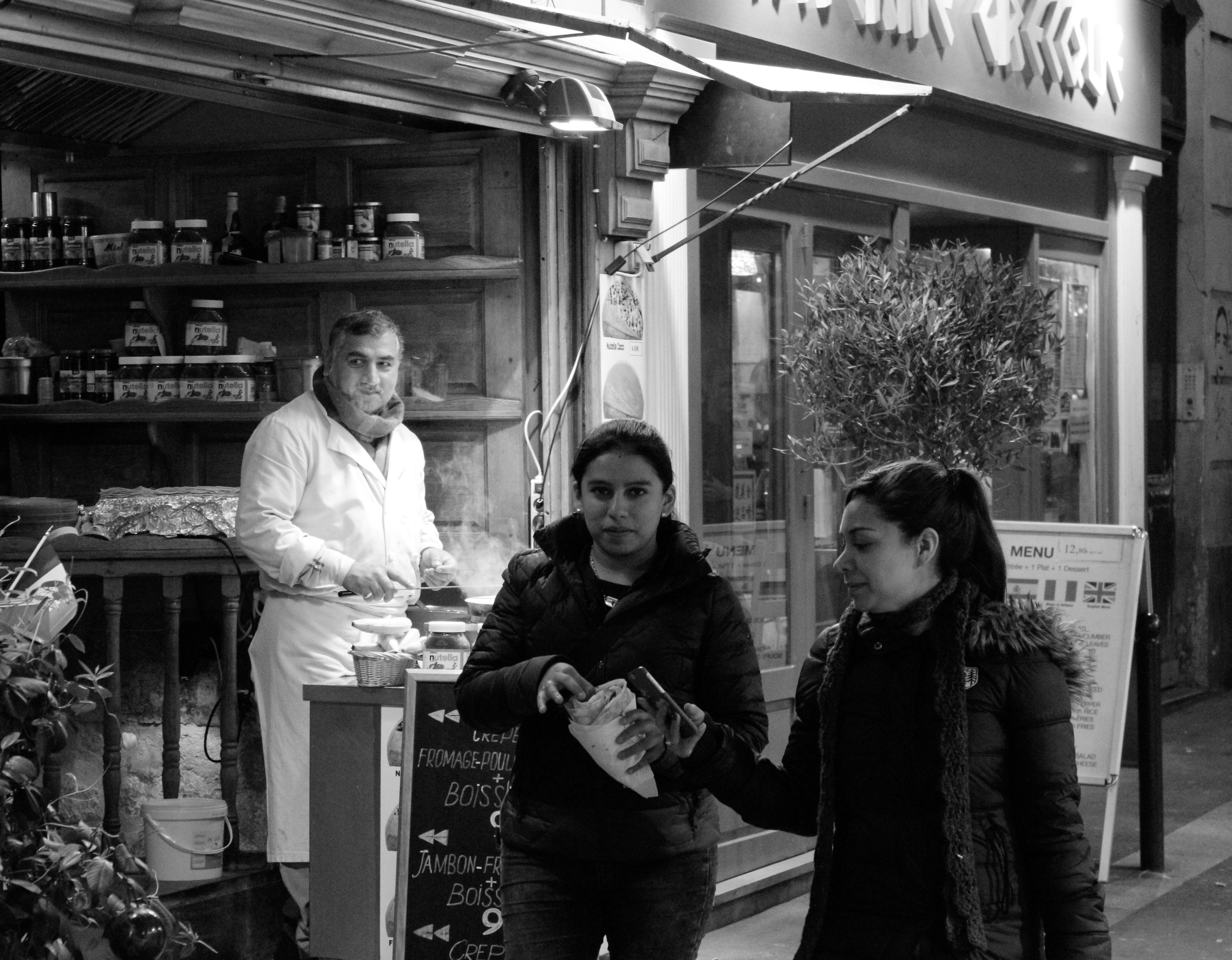 rue saint &ndre des arts - 2015