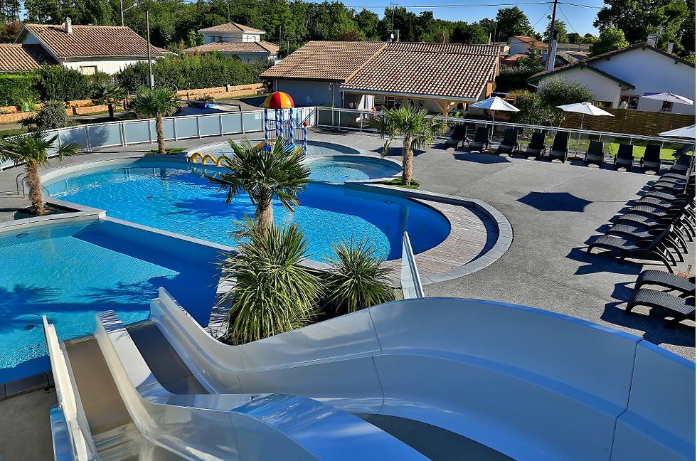Camping bassin arcachon piscine camping les abberts france - Camping bassin d arcachon avec piscine ...