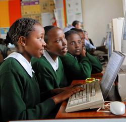 Technology Partnership Kenya technology classroom