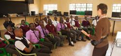 Technology Partnership Kenya classroom