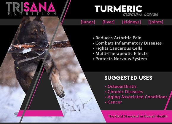 Canine Turmeric Root