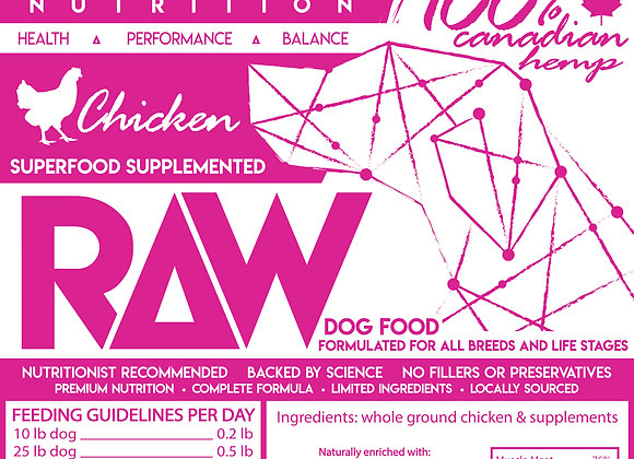 Chicken Raw Food