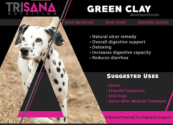 Canine Green Clay
