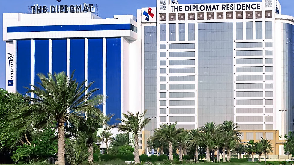 THE DIPLOMAT RADISSON BLU HOTEL