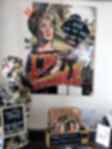Graphic art design deco Tableau collage vintage pop art