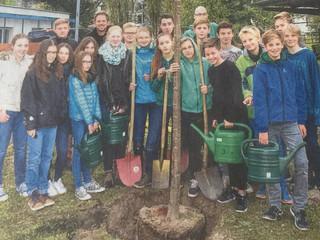 "Baumpflanzaktion ""Baum des Jahres"""