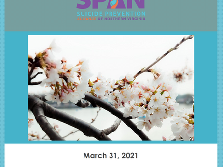 SPAN Late March 2021 Newsletter