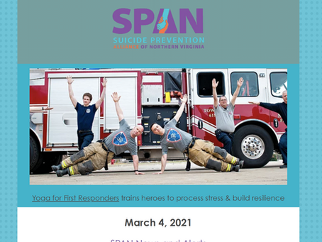 SPAN Early March 2021 Newsletter