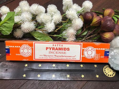 Satya Nag Champa Pyramids Incense Sticks 15g