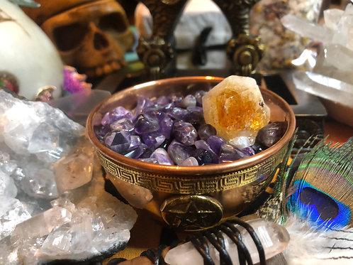 Amethyst Crystal Chip Stones Tumbles