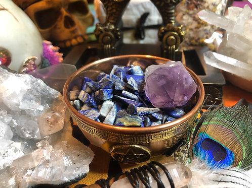 Crystal Chip Stones Tumbles Soladite