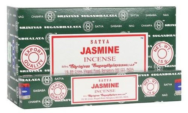 Satya Nag Champa Jasmine Incense Sticks 15g