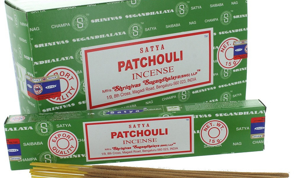 Satya Nag Champa Patchouli Incense Sticks 15g