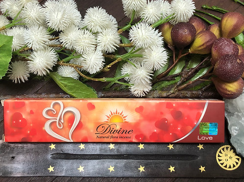 Sandesh Divine Love Incense Sticks 15g