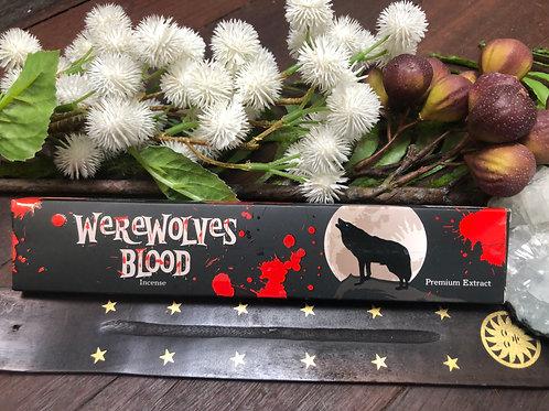 Sandesh Werewolves Blood Premium Incense Sticks 15g