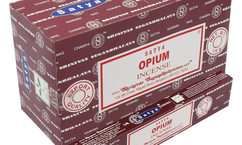 Satya Nag Champa Opium Incense Sticks 15g