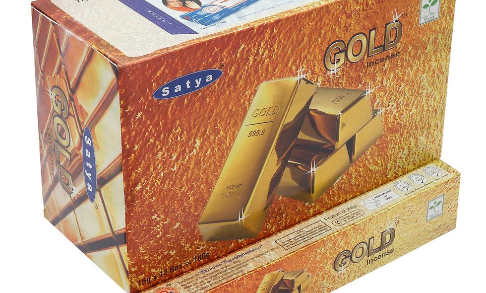 Satya Nag Champa Gold Incense Sticks 15g