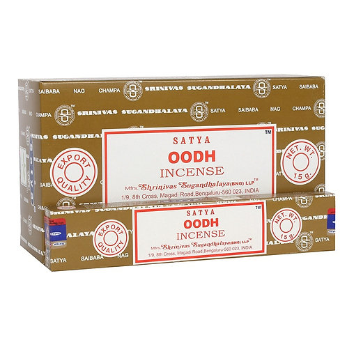 Satya Nag Champa Oodh Incense Sticks 15g