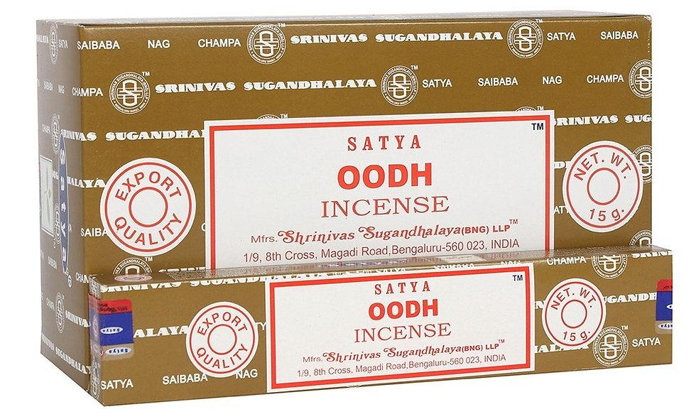 Satya Nag Champa Oodh Incense Sticks 15g