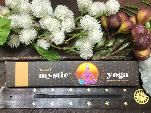 Sandesh Mystic Yoga Premium Incense Sticks 15g