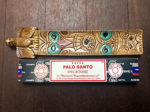 Totem Pole Ash Catchers Incense Stick Cone Holders