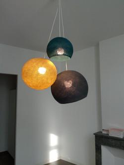 luminaire gonflé au ballon