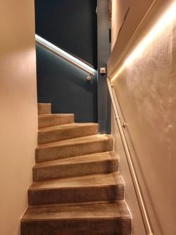 réfection montée escalier