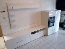 meuble tv avec placard et someli