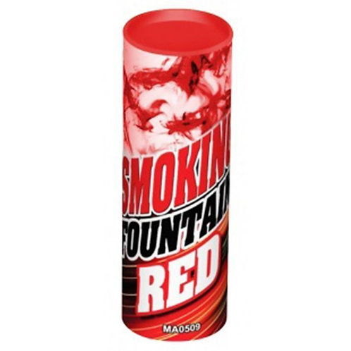 Цветной дым Красный