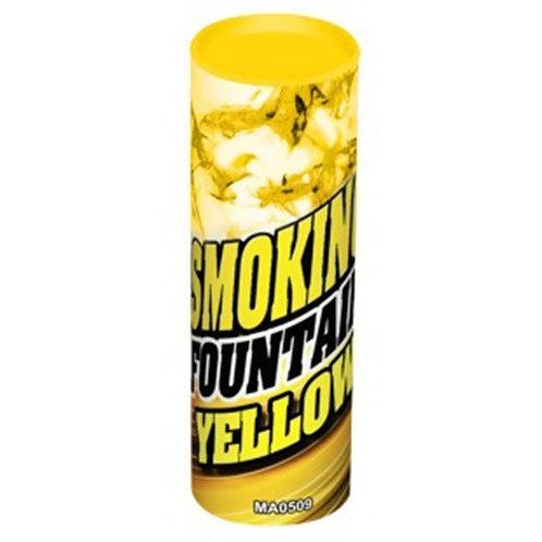 Цветной дым Желтый