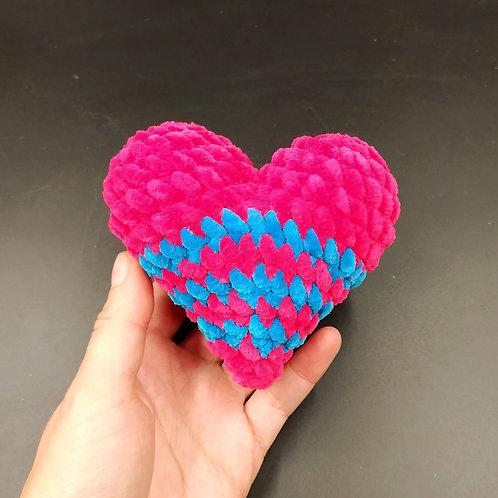 Велюровое сердце