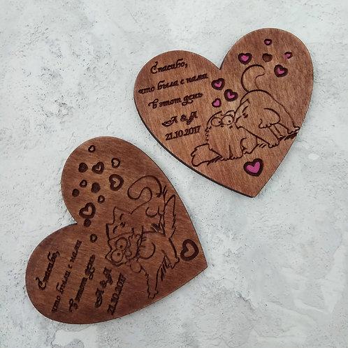 Котики в сердце
