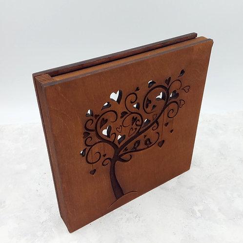 Короб для Песочной церемонии с дерево, размер Slim