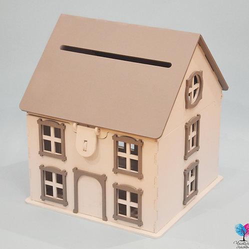 Деревянный дом для денег