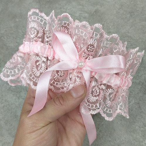 Подвязка арт. 9.1 нежно-розовый цвет