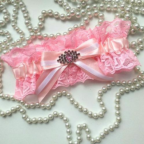 Подвязка арт. 3.4 Розовый цвет